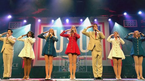 USO Show Troupe featured at this Friday's Downtown @ Sundown Concert.