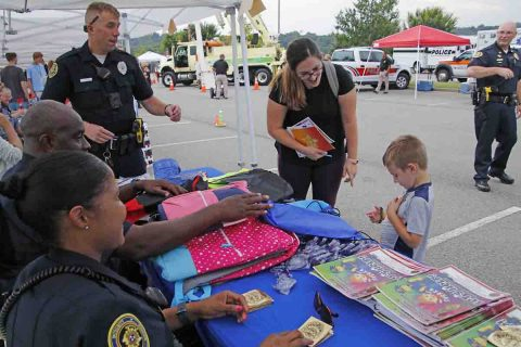 Clarksville Police Department's National Night Out. (Jim Knoll, CPD)