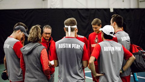 Austin Peay releases the Men's Tennis Team's 2019 Schedule. (APSU Sports Information)