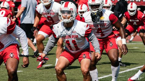 Austin Peay Football to host first scrimmage on Saturday, August 10th at Fortera Stadium. (APSU Sports Information)