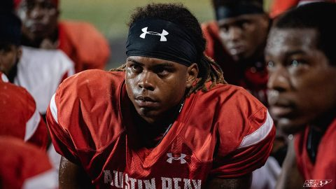Austin Peay Football held its second scrimmage Saturday night at Fortera Stadium. (APSU Sports Information)