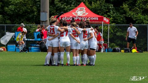 Austin Peay Women's Soccer loses exhibition match against Georgia Tech, 1-0. (APSU Sports Information)