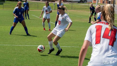 Austin Peay Women's Soccer unable to hold lead late in 1-1 draw at Chattanooga. (APSU Sports Information)