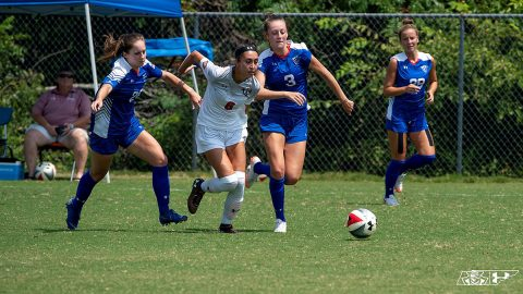 Austin Peay Soccer unable to hold back Middle Tennessee Blue Raiders in second half. (APSU Sports Information)