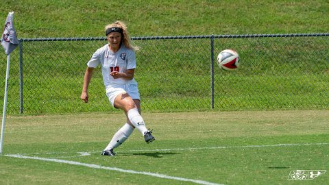 Austin Peay Women's Soccer hosts Mercer Friday at Morgan Brothers Soccer Field. (APSU Sports Information)