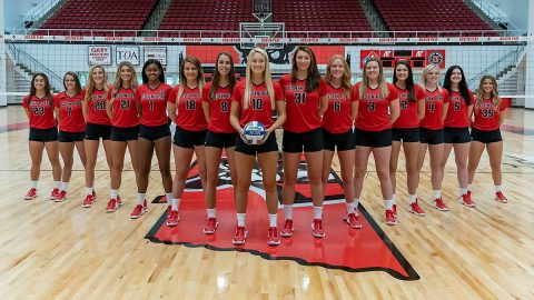 The 2019 Austin Peay State University Volleyball Team. (APSU Sports Information)