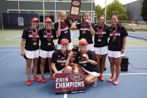 2018-2019 OVC Champion Austin Peay Women's Tennis Team has competitive 2019-20 Schedule. (APSU Sports Information)