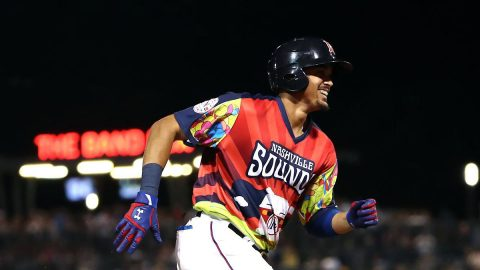 Nashville Sounds Wins for Eighth Time in Nine Games. (Nashville Sounds)