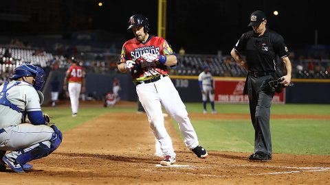 Nashville Sounds Win Close Game against Omaha Storm Chasers with Eighth Inning Home Run. (Nashville Sounds)