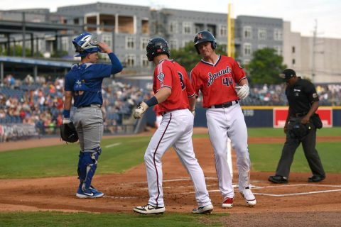 Nashville Sounds Finish Short Homestand with Loss Versus Omaha Storm Chasers. (Nashville Sounds)
