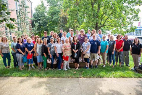 Thirty science teachers from Houston and Humphreys counties visited Austin Peay State University in July. (APSU)