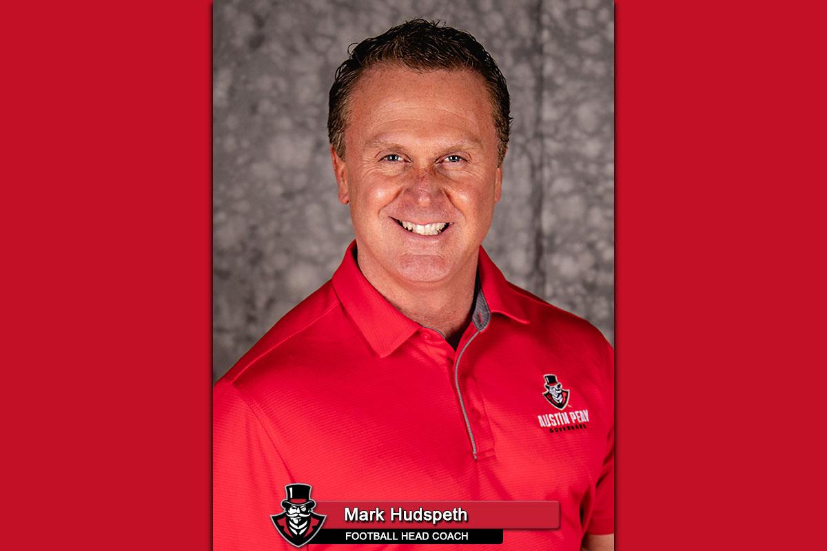 APSU Football head coach Mark Hudspeth