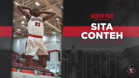 Austin Peay Men's Basketball completes 2019-20 roster with addition of Sita Conteh from Willison State College. (APSU Sports Information)