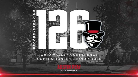 Austin Peay has record breaking 126 Governors named to OVC Commissioner's Honor Roll. (APSU Sports Information)