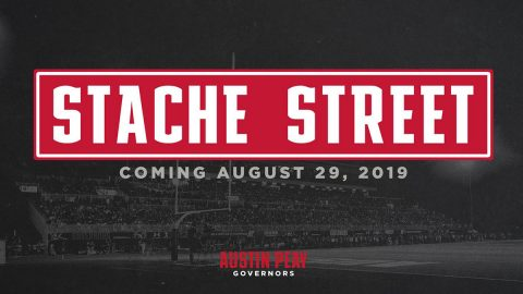 "Austin Peay Football's new pregame entertainment ""Stache Street"" begins August 29th. (APSU Sports Information)"