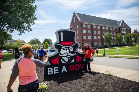 Freshmen begin to move into residence halls at Austin Peay State University beginning Thursday. (APSU)
