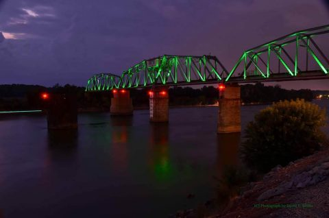 RJ Corman Bridge in Clarksville. (David E. Smith)