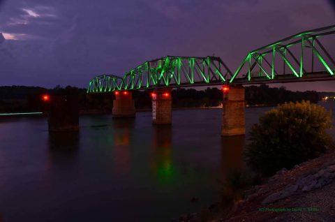 RJ Corman Bridge in Clarksville. (David E. Smith)