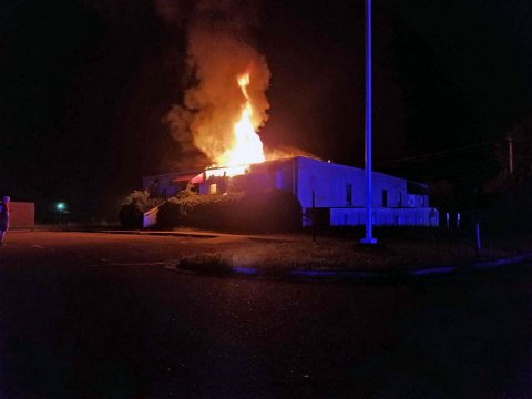 Clarksville Police and Clarksville Fire Rescue responded to a fire last night at 261 Stonecrossing Drive. (Spain, CPD)