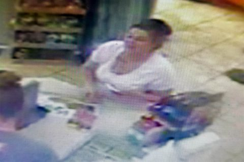 Clarksville Police are trying to identify the woman in this photo in connection with a motorcycle robbery on July 31st.