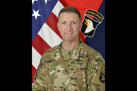 Col. Brandon Teague