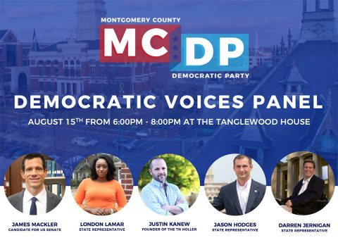 Democratic Voices Panel at Tanglewood House August 15th.