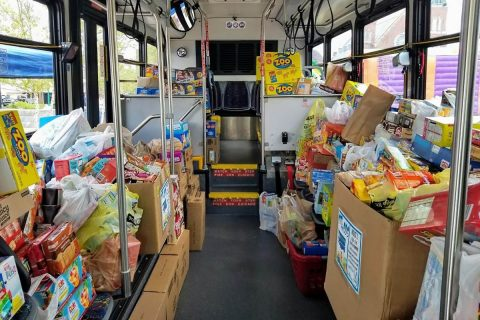 Fuel the Bus Event Collects Over 60,000 Items