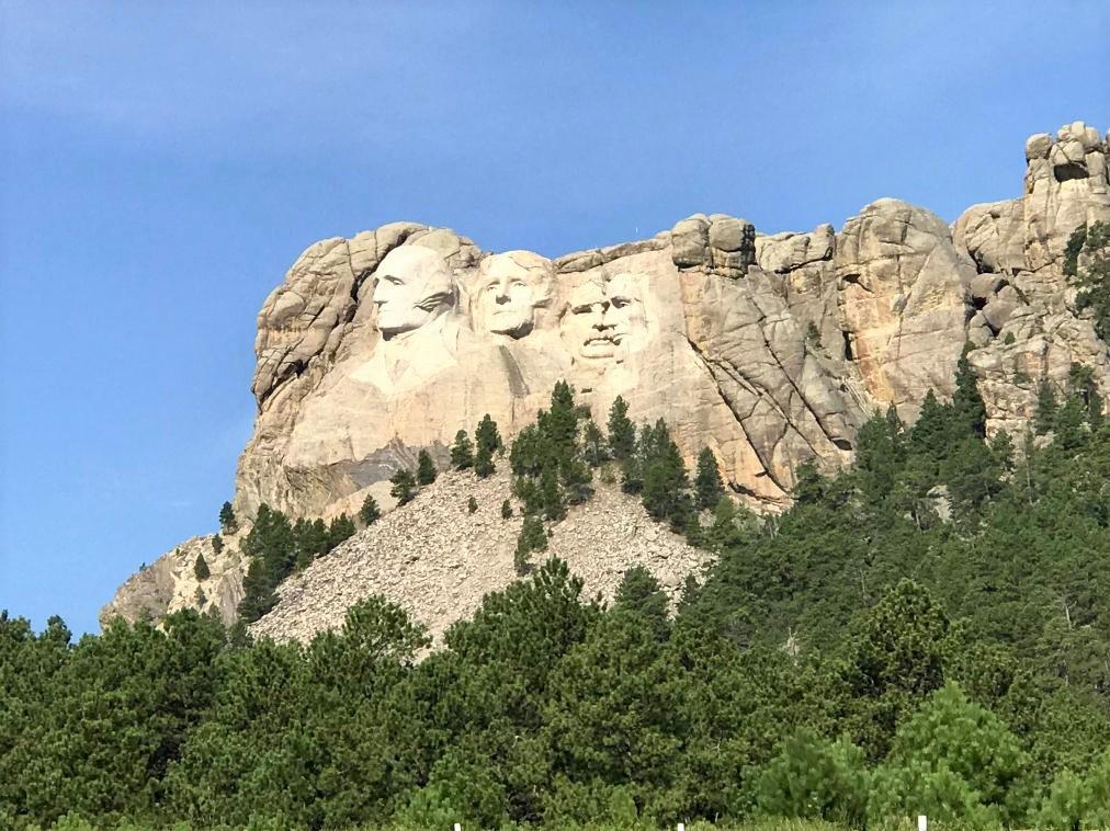 Mount Rushmore South Dakota.