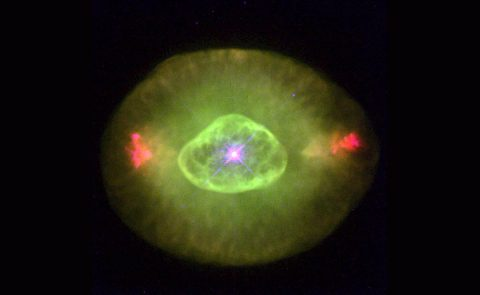 The Hubble Space Telescope captured this image of Planetary Nebula NGC 6826 Jan. 27, 1996. SISTINE will image NGC 6826 during its first flight to calibrate its instruments. (HST/NASA/ESA)