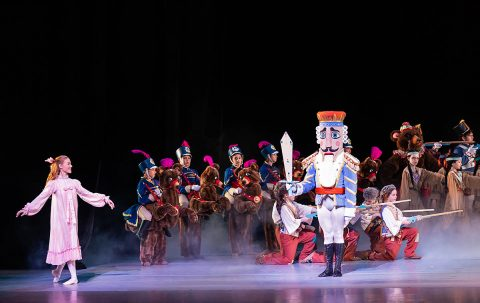 Nashville Ballet's the Nutcracker.