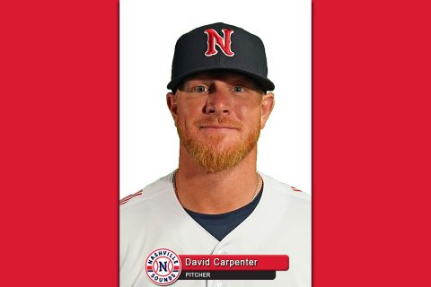 Nashville Sounds - David Carpenter