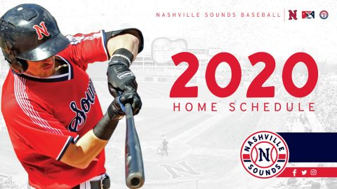 Nashville Sounds release 2020 Home Schedule for 2020