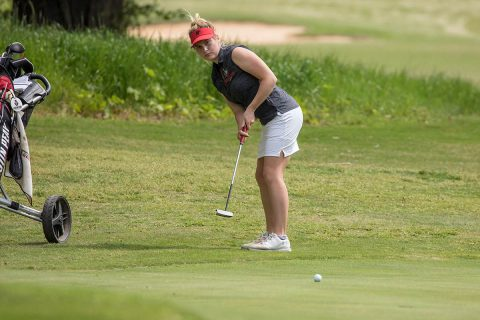 Austin Peay Women's Golf sophomore Taylor Dedmen's 73 highlights final round at Payne Stewart Memorial. (APSU Sports Information)