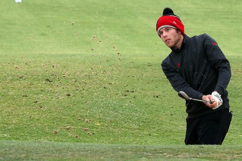 Austin Peay State University Men's golf had play suspended at J.T. Poston Invitational Monday afternoon due to rain. (APSU Sports Information)