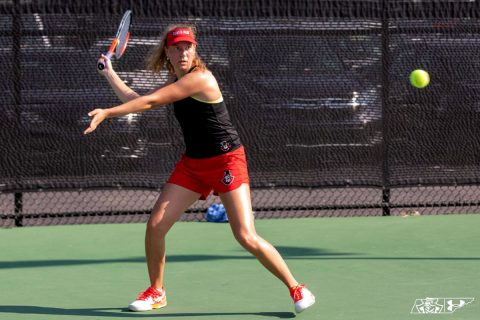 Austin Peay Women's Tennis near perfect after day one at University of Central Arkansas Fall Classic. (APSU Sports Information)