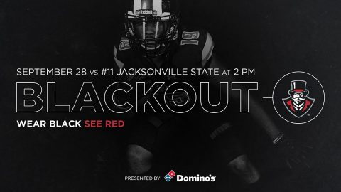 Austin Peay Football plays 11th ranked Jacksonville State at Fortera Stadium Saturday, September 28th at 2:0Opm. (APSU Sports Information)