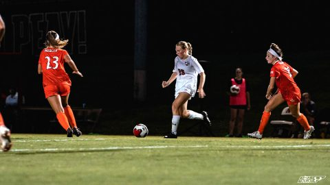 Austin Peay Women's Soccer drops 3-0 match to Northern Colorado Sunday afternoon. (APSU Sports Information)