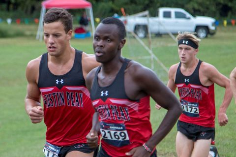 Austin Peay Men's Cross Country get first look at OVC course in Edwardsville. (APSU Sports Information)