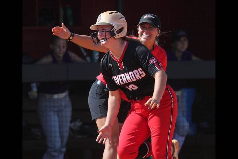 Austin Peay Women's Softball takes doubleheader from Trevecca Trojans 7-6 and 8-7. (APSU Sports Information)