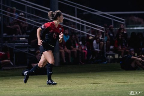 Austin Peay Women's Soccer loses at Morgan Brothers Field 2-1 to Southeast Missouri Friday night. (APSU Sports Information)