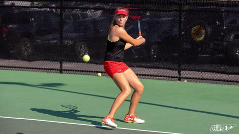 Austin Peay Women's Tennis hit the ground running on day one of APSU Fall Invitational. (APSU Sports Information)