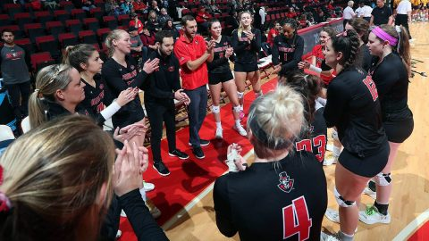 Austin Peay Women's Volleyball hits the road to take on Northwestern, Stephen F. Austin and Texas Tech at NU Under Armour Challenge. (APSU Sports Information)