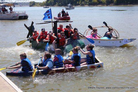 27 Teams took part in the 2019 Riverfest Regatta.