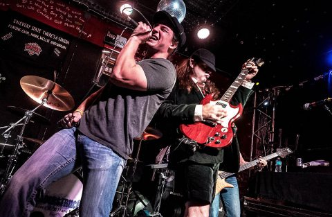 "AC/DC Tribute Band ""Thunderstruck"" to headline Downtown @ Sundown at the Downtown Commons, Friday."