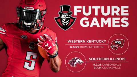 Austin Peay Football announces future games against Western Kentucky and Southern Illinois. (APSU Sports Information)
