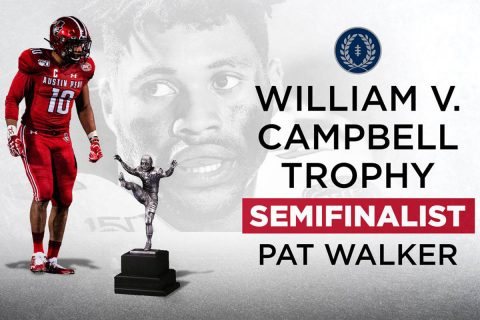 Austin Peay Football's Pat Walker a 2019 NFF Campbell Trophy semifinalist. (APSU Sports Information)
