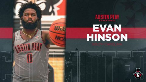 Austin Peay Men's Basketball signs South Carolina transfer Evan Hinson for the 2019-20 season. (APSU Sports Information)