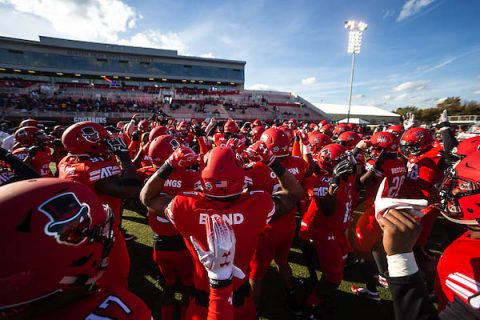 The Austin Peay Football team (2-2) hosts the No. 10 Jacksonville State Gamecocks (3-1) at 2:00pm Saturday, September 28th. (APSU)