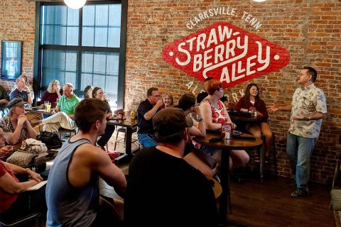 Austin Peay State University's Science on Tap event at Strawberry Alley Ale Works. (APSU)