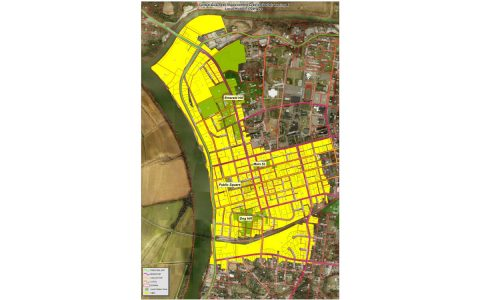Central Business Improvement District (CBID) map.